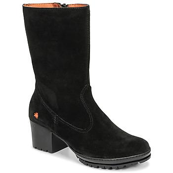 Pantofi Femei Cizme casual Art CAMDEN Negru