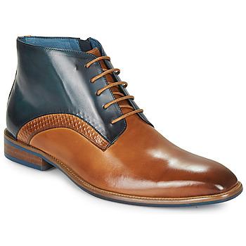Pantofi Bărbați Ghete Kdopa HARRIS Coniac / Albastru