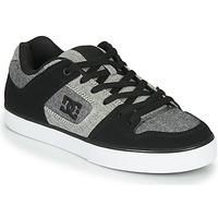 Pantofi Bărbați Pantofi sport Casual DC Shoes PURE Negru / Gri