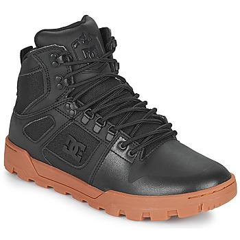 Pantofi Bărbați Pantofi sport stil gheata DC Shoes PURE HIGH TOP WR BOOT Negru
