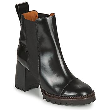 Pantofi Femei Botine See by Chloé TRINIDAD Negru