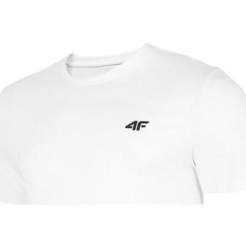 Îmbracaminte Bărbați Tricouri mânecă scurtă 4F TSM003 Alb