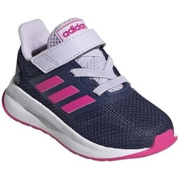 Pantofi Copii Trail și running adidas Originals Runfalcon I Alb,Albastru marim
