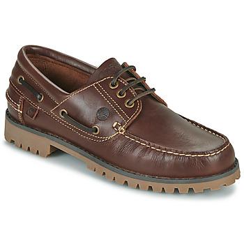 Pantofi Bărbați Pantofi barcă Casual Attitude EVEROA Maro