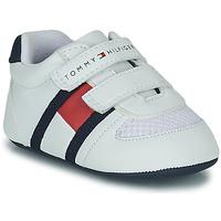 Pantofi Copii Pantofi sport Casual Tommy Hilfiger T0B4-30191 Alb