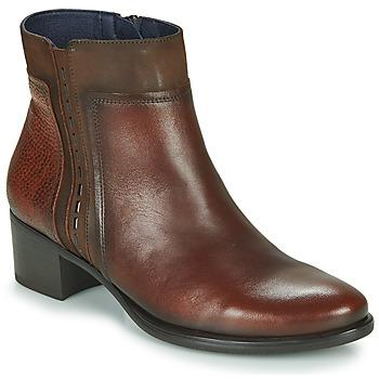 Pantofi Femei Botine Dorking ALEGRIA Maro