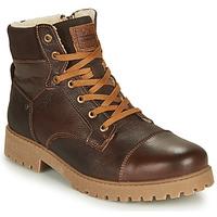 Pantofi Băieți Ghete Bullboxer ALL518E6LA-BRWN Maro