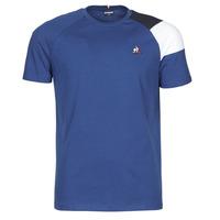 Îmbracaminte Bărbați Tricouri mânecă scurtă Le Coq Sportif ESS TEE SS N°10 M Albastru