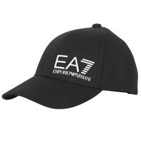 Accesorii textile Bărbați Sepci Emporio Armani EA7 TRAIN CORE ID M LOGO CAP Negru