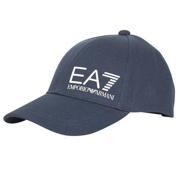 Accesorii textile Bărbați Sepci Emporio Armani EA7 TRAIN CORE ID M LOGO CAP Albastru