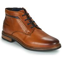 Pantofi Bărbați Ghete Bugatti NELS Maro