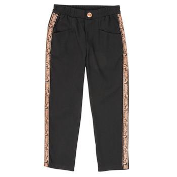 Îmbracaminte Fete Pantalon 5 buzunare Ikks XR22012 Negru