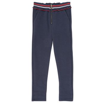 Îmbracaminte Fete Pantalon 5 buzunare Ikks XR23002 Albastru