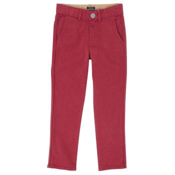 Îmbracaminte Băieți Pantalon 5 buzunare Ikks XR22093 Roșu