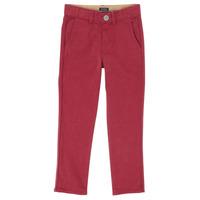 Îmbracaminte Băieți Pantalon 5 buzunare Ikks XR22093J Roșu