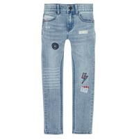Îmbracaminte Băieți Jeans slim Ikks XR29053 Albastru
