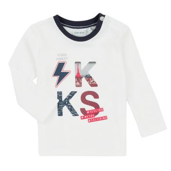 Îmbracaminte Băieți Compleuri copii  Ikks XR36001 Alb