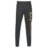 Îmbracaminte Bărbați Pantaloni de trening Emporio Armani EA7 TRAIN LOGO SERIES M PANTS Negru