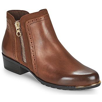 Pantofi Femei Ghete Caprice 25403-313 Coniac