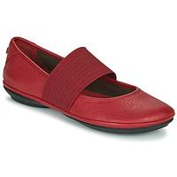 Pantofi Femei Balerin și Balerini cu curea Camper RIGHT NINA Roșu