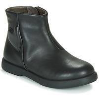 Pantofi Fete Ghete Camper DTT1 Negru