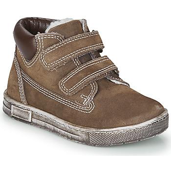 Pantofi Băieți Pantofi sport stil gheata Chicco CLAY Maro