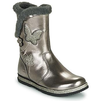 Pantofi Fete Cizme casual Chicco CAMPANELLA Argintiu