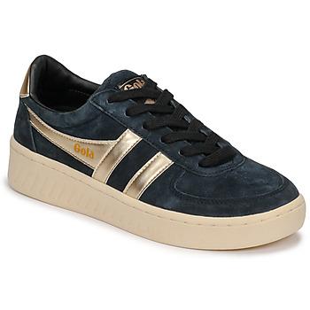 Pantofi Femei Pantofi sport Casual Gola GRANDSLAM PEARL Negru / Auriu