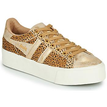 Pantofi Femei Pantofi sport Casual Gola ORCHID PLATEFORM SAVANNA Auriu / Ghepard