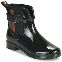 Pantofi Femei Cizme de cauciuc Tom Tailor  Negru