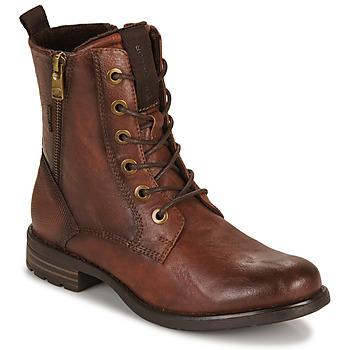 Pantofi Femei Ghete Tom Tailor  Coniac
