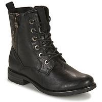 Pantofi Femei Ghete Tom Tailor  Negru