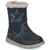 Pantofi Fete Cizme casual Tom Tailor 72307-BLEU Albastru