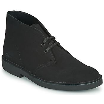 Pantofi Bărbați Ghete Clarks DESERT BOOT 2 Negru