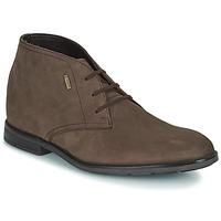 Pantofi Bărbați Ghete Clarks RONNIE LOGTX Maro