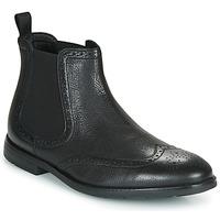 Pantofi Bărbați Ghete Clarks RONNIE TOP Negru