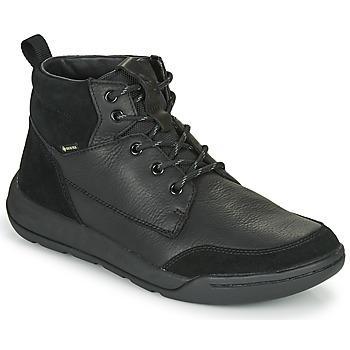 Pantofi Bărbați Ghete Clarks ASHCOMBEHIGTX Negru