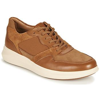 Pantofi Bărbați Pantofi sport Casual Clarks UN GLOBE RUN Camel