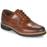 Pantofi Bărbați Pantofi Derby Clarks BATCOMBE WING Camel