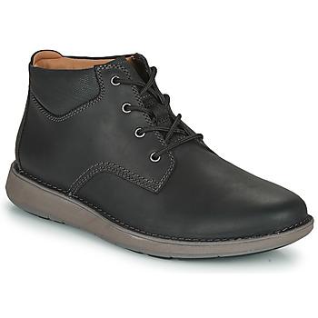 Pantofi Bărbați Pantofi Derby Clarks UN LARVIK TOP2 Negru