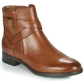 Pantofi Femei Ghete Clarks HAMBLE BUCKLE Maro