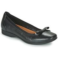 Pantofi Femei Balerin și Balerini cu curea Clarks UN DARCEY BOW Negru