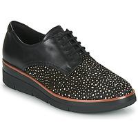 Pantofi Femei Pantofi Derby Clarks SHAYLIN LACE Negru