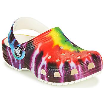 Pantofi Copii Saboti Crocs CLASSIC TIE DYE GRAPHIC CLOG K Multicolor