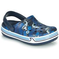 Pantofi Băieți Saboti Crocs CROCBAND SHARK CLOG PS Albastru