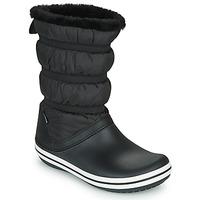 Pantofi Femei Cizme de zapadă Crocs CROCBAND BOOT W Negru