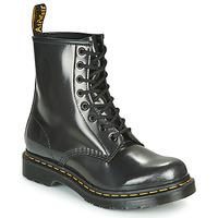 Pantofi Femei Ghete Dr Martens 1460 W Argintiu