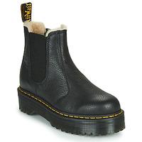 Pantofi Femei Ghete Dr Martens 2976 QUAD FL Negru