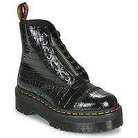 Pantofi Femei Ghete Dr Martens SINCLAIR Negru / Croco