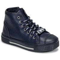 Pantofi Copii Pantofi sport stil gheata Emporio Armani XYZ004-XOI25 Albastru